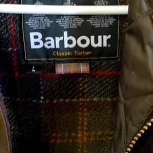 Barbour Classic Tartan jacket.
